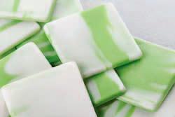 КВАДРАТ, ТРЕУГОЛЬНИК, ВЕЕР Полуфабрикат глазурь шоколадная