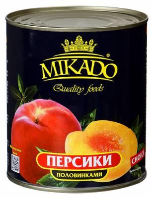 "Персики в сиропе ""МИКАДО"""