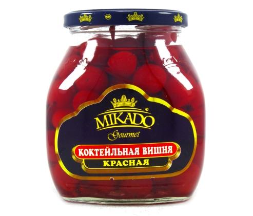 Вишня коктейльная MIKADO, 720мл*6, Красная