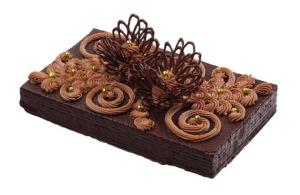 Украшения для кондитерских изделий из шоколада