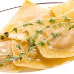 Равиоли с тыквой — рецепт приготовления
