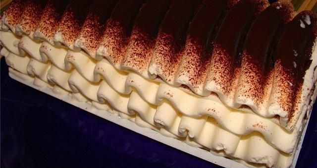 Торт-мороженое как приготовить способ приготовления
