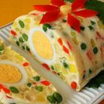 Рецепт приготовления — Желейный салат