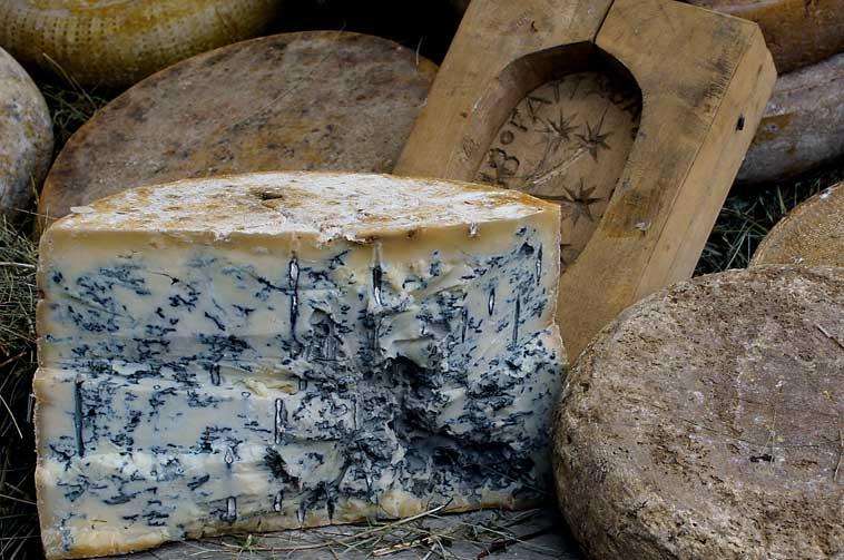Рокфор - самый знаменитый французский сыр с плесенью.
