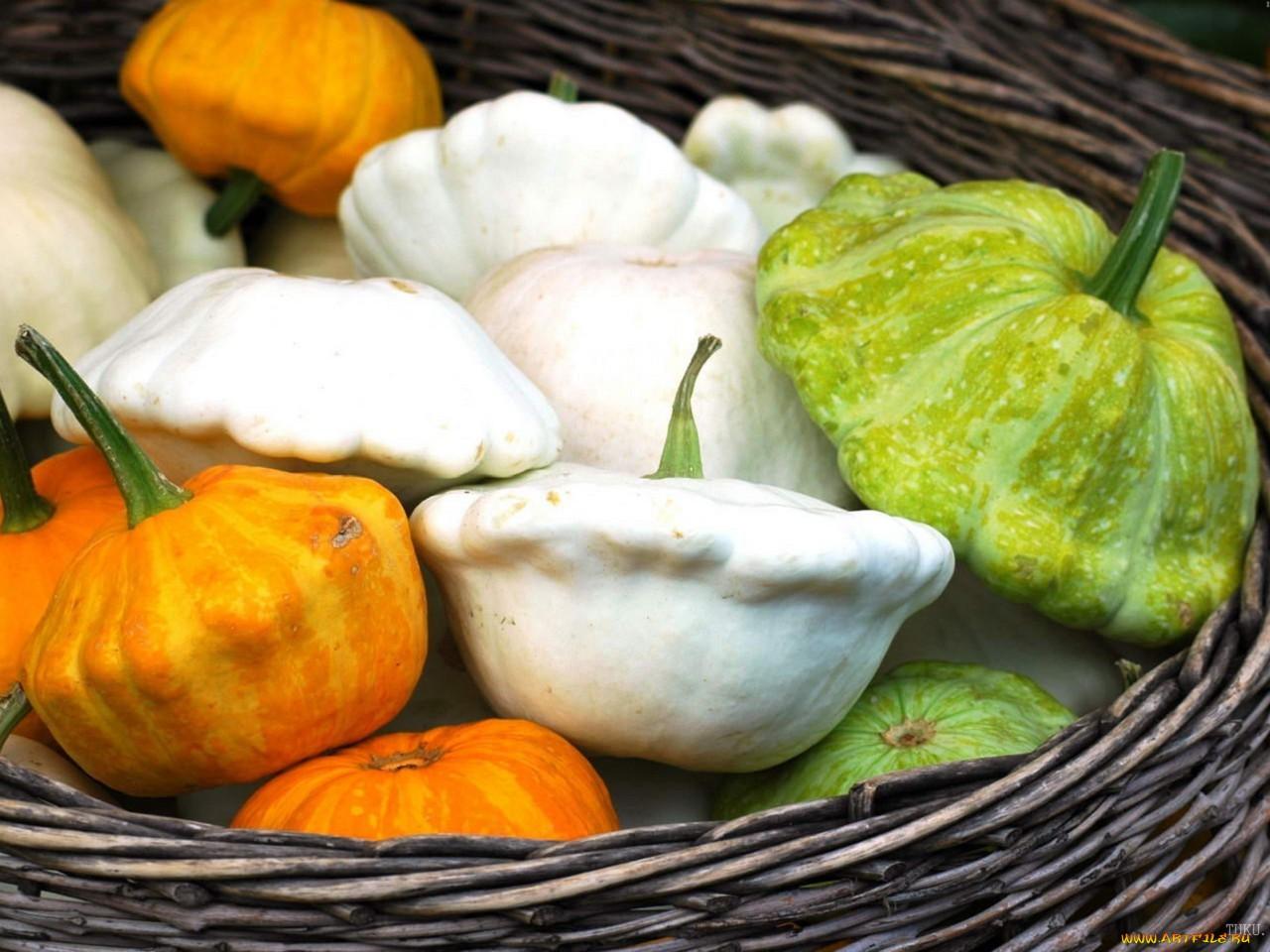 патиссон купить недорого в москве оптом овощь кабачок корзина белый зеленый оранжевый png