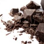 Черный горький шоколад