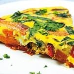 Испанская кухня: тортилья с кукурузой и картофелем