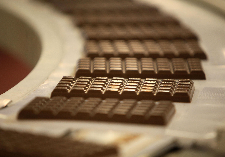 В Беларуси выпуск шоколада в сентябре сократился до 5,7 тыс. тонн