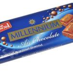 Кондитерская компания Миллениум расширяется на рынке шоколада: за текущий 2015 год экспорт этого шоколада увеличился на 20%