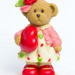 Мишка с розами 2