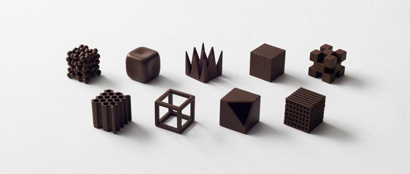 Фигурки шоколадные
